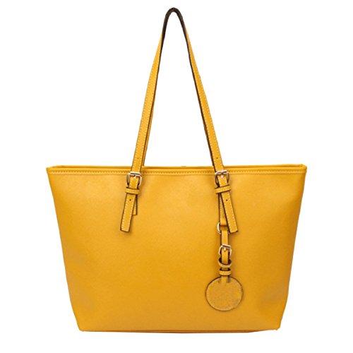 Borse Yy.f Spalla Borse Per Notebook Borse Semplici Croce Borsa Secchiello Modello Semplici Borse A Mano Multicolore Yellow
