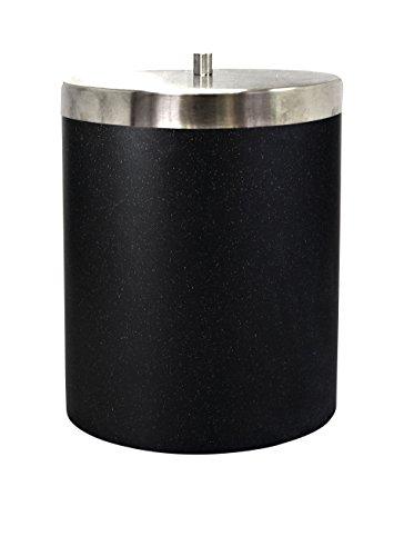 RIDDER Abfalleimer mit Deckel Stone schwarz
