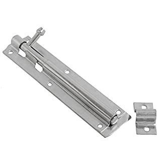 Linx Steel Sliding Tower Door Bolt 150mm x 40mm (6 Inch) BZP, Pack of 1