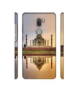 Casotec Taj Mahal Design 3D Printed Hard Back Case Cover for Xiaomi Mi 5s Plus