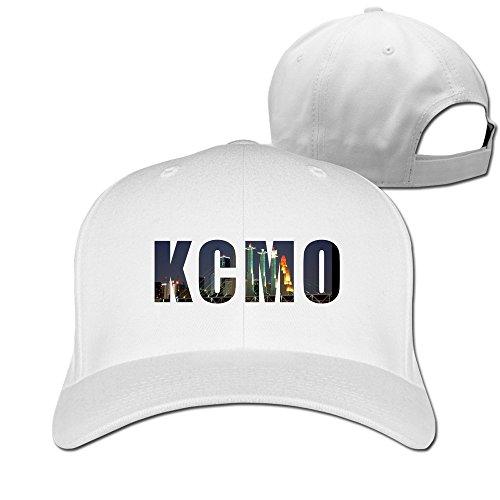 Kansas City hip-hop casquette réglable en capsules - Blanc - Taille Unique