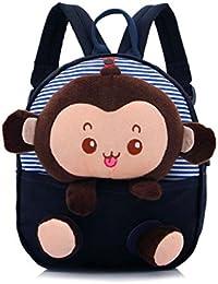 Preisvergleich für GWELL Süß Affe Babyrucksack Kindergartenrucksack Kleinkind Kinder Rucksack Mädchen Jungen Backpack Schultasche