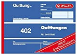 Herlitz 7876147Bloc de facturas A64022x 40hojas, papel autocopiativo, 5er Pack, 1