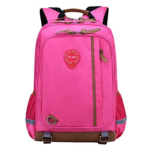 Grundschulrucksack Kinderrucksack Wasserdicht Abriebfest Schlank Leicht Studentenbuchtasche Britischen Stil Modetasche Große Kapazität Mehrfach