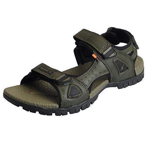 Sparx Men's Olive Black Sandals SS_471-40