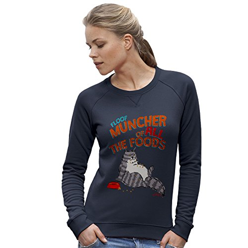 TWISTED ENVY - Sweat-Shirt - Manches Longues - Femme Bleu Marine