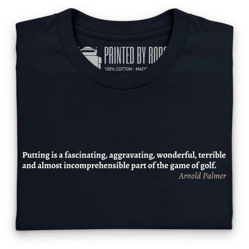 Arnold Palmer Quote 2 T-Shirt, Herren Schwarz