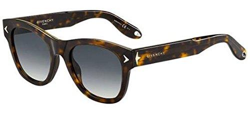 Givenchy gv 7010/s 9o 086, occhiali da sole unisex-adulto, marrone (dark havana/brown), 51