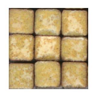 ALEA Mosaic Mosaik-Minis (3x3x2mm), 1000 Stück, Zitronengelb, RY01
