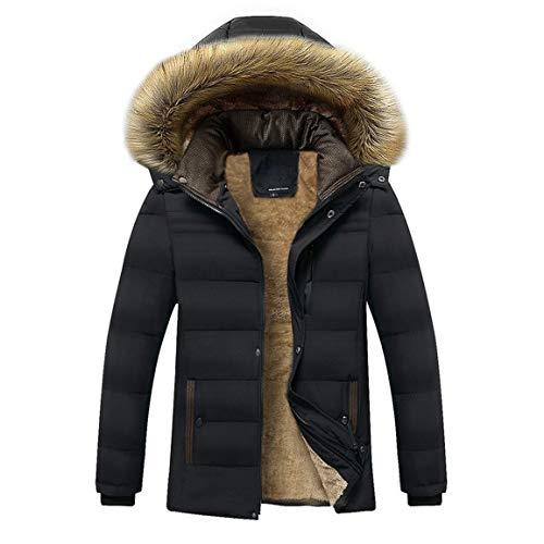 Männer Langarm Outwear Mann Hoodied Jacken Mode Reise Winter Mode Lässig Verdickt Kaschmir Baumwolle Gefütterte Jacke Mantel Moonuy