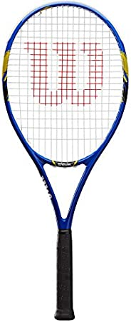 Wilson Unisex Adult 2-WRT30560U3 US Open Tennis Racket Without Cover - Blue/Yellow, Grip 3