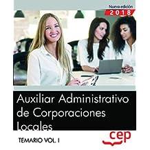 Amazon.es: auxiliar o administrativo: Libros
