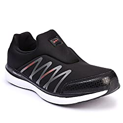 Campus MenS Black Mesh Running Shoes (10 Uk)