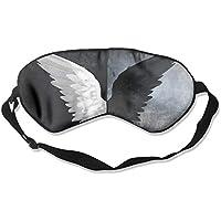 Comfortable Sleep Eyes Masks Angel Wings Pattern Sleeping Mask For Travelling, Night Noon Nap, Mediation Or Yoga preisvergleich bei billige-tabletten.eu