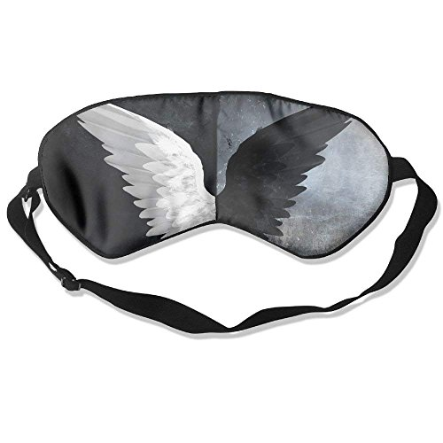 Comfortable Sleep Eyes Masks Angel Wings Pattern Sleeping Mask For Travelling, Night Noon Nap, Mediation Or Yoga