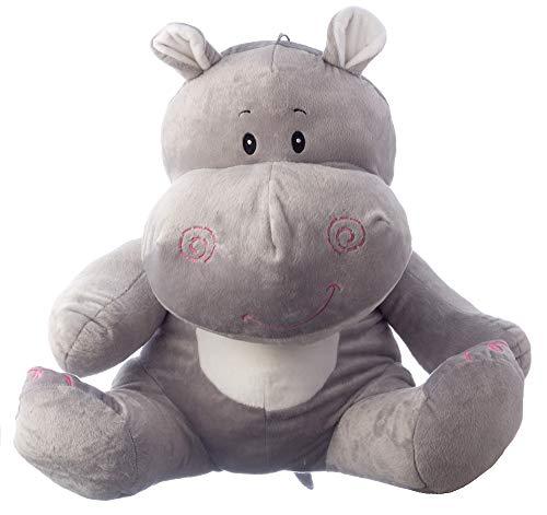 ppo Sitzhöhe 60cm Plüschnilpferd Plüsch-Hippo ()