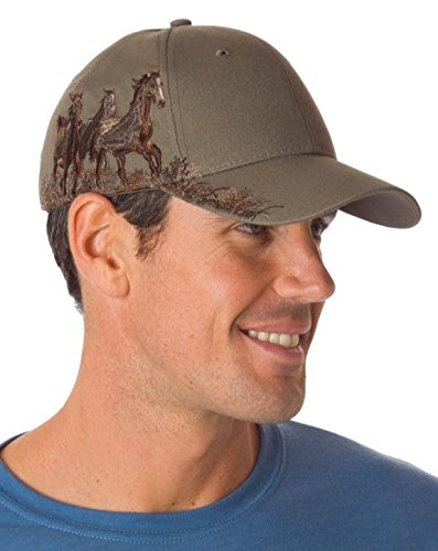 dri-duck-wildlife-serie-caps-ball-cappello-3200-mustangs-earth-taglia-unica