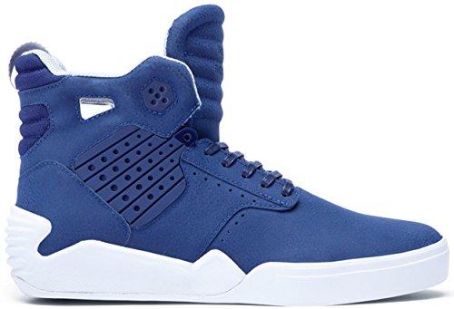 Chaussures Skytop IV Navy/White - Supra Bleu