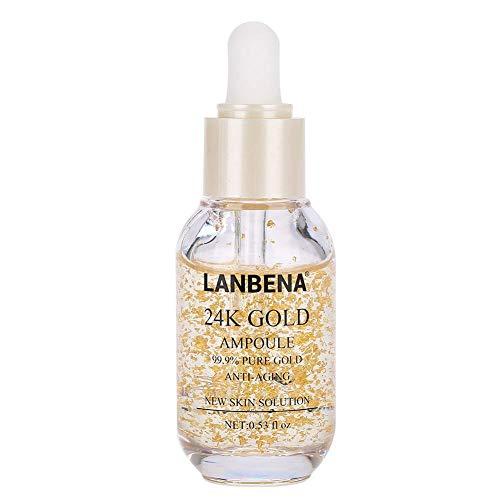 Gesicht feuchtigkeitsspendende Lift Whitening Anti-Aging Serum Gold Schnecke Essence Collagen...