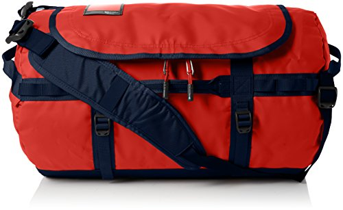 The North Face Base Camp Duffel, Sacs de sport grand format Mixte, Multicolore (Poinciana Orange/Urban Navy), 50 L, S