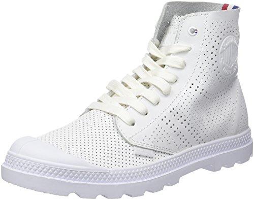 Bianco Collo White Donna Alto Palladium Pampa Perf Mid Sneaker a LP 420 npZYwSzq