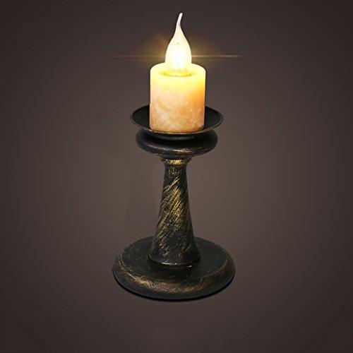 WYZ Kreative Lampe Kerze Bügeleisen Tischlampe Retro Industrie Kaffee Restaurant Bar Lichter Creative Schlafzimmer Nachttisch Lampe Schreibtisch Lampe Lampenentwurf (Farbe : A)