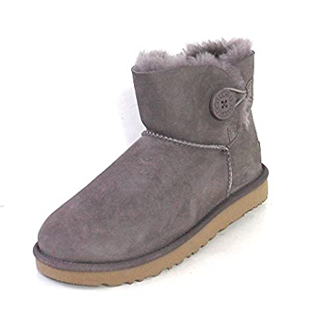 UGG - Boot MINI BAILEY BUTTON II 1016422 - stormy grey, Größe:42