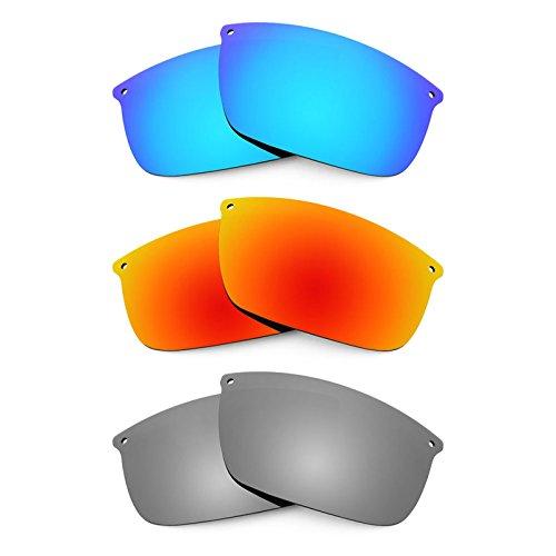 Revant Ersatzlinsen für Oakley Carbon Blade Polarisiert 3 Paar Kombipack K014