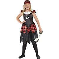 Smiffys Pirate Skull & Crossbones Girl Costume