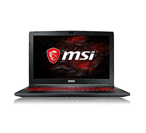 "MSI GL62M 7RDX-1655XES - Portátil de 15.6"" IPS FullHD (Intel Core i7-7700HQ, RAM de 8 GB, 1 TB HDD y 256 GB SSD, nVidia Geforce GTX 1050 4 GB GDDR5, sin sistema operativo) negro - Teclado QWERTY español"