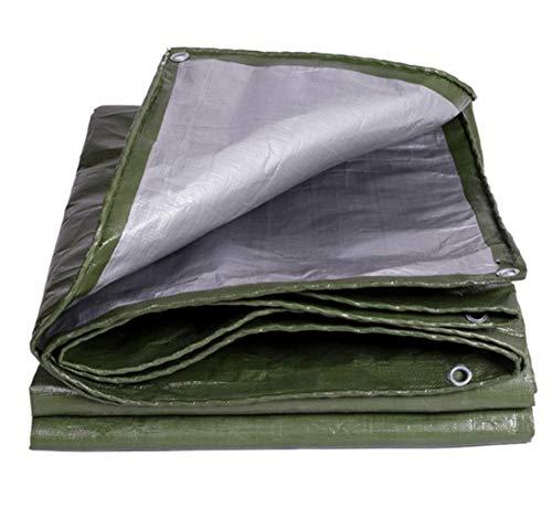 FOTEE Bache Bois, Abri de Tente étanche à l'eau et étanche au Toit Bache Plastique,Green_3x3m