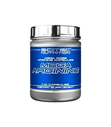Scitec Ref.102132 Acide Aminé de L-Arginine Complément Alimentaire 140 Capsules