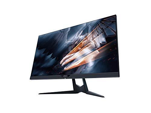 GIGABYTE AORUS AD27QD 27Zoll 68,5cm 16:9 2560x1440 HDR400 144Hz 1ms 350cd/m2 DP 1.2 2X HDMI 2.0 3X USB3.0 Lautsprecher RGB Schwarz