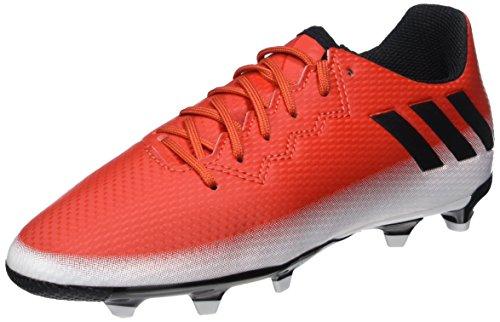 Adidas Messi 16.3 FG, Botas de fútbol Infantil, Rojo Red/Core Black/FTWR White, 32 EU