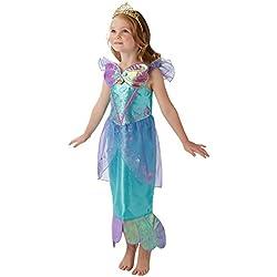Rubies 's Disney Princess Ariel sirenita Childs Deluxe disfraz