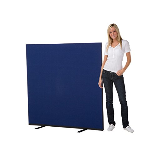 Affordable Panelwarehouse 1500 x 1500 Office Screen / Partition, royal blue Woolmix fabric on Line