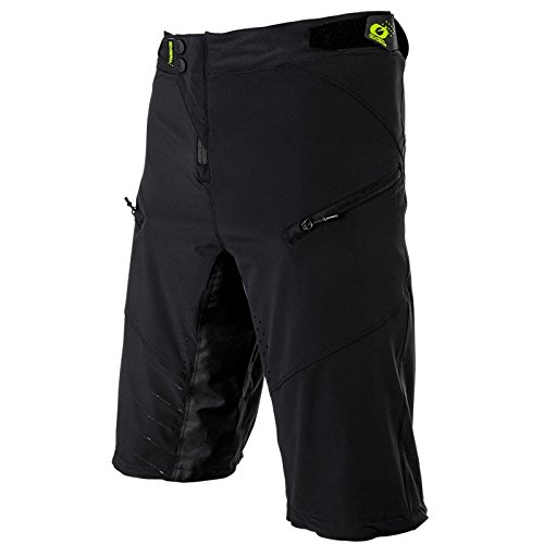 O'Neal PIN IT Shorts Mountain Bike Hose Kurz Fahrrad Sport Bekleidung MTB DH Downhill, 1075-0, Farbe Schwarz, Größe 36