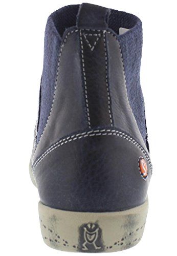 softinos IMI412SOF washed leather HW17 Navy