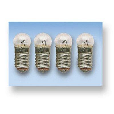Accessories for Doll Houses - Lighting : 4 Mini Light Bulbs