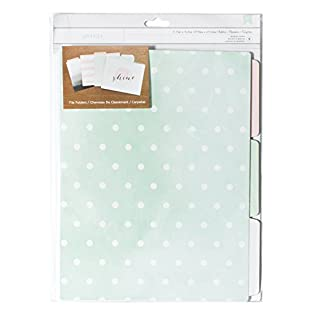 American Crafts Papier Designer Desktop Essentials Datei Ordner 11.75-inch 33,7x 23,5be-You-Tiful