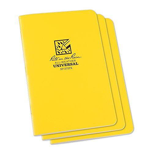 rite-in-the-rain-unisex-staple-mini-wasserdicht-notizblock-3-stuck-gebunden-gelb-4-5-8-x-178-cm