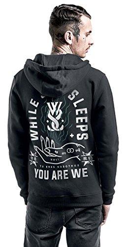 While She Sleeps You are we Sweat à capuche zippé noir Noir