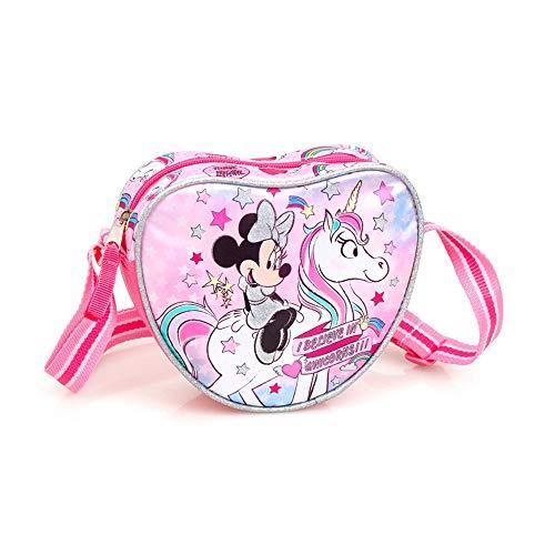 Disney borsetta per bambine tracolla minnie colorata