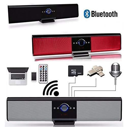 madprice SOUNDBAR Bluetooth Speaker Karaoke TV Fernbedienung USB SD TF Radio TG018