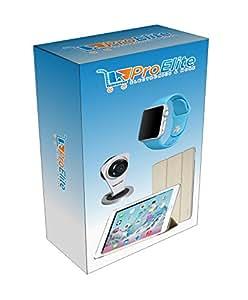 Proelite F12 Hidden Spy Bulb Shape Fisheye 360° Panoramic Wireless Wifi 1.3 Mp 960P Hd Ip Cctv Security Camera With Sd Card Slot [Watch Live]