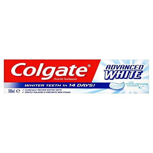 3x Colgate Avanzado Blanco Pasta De Dientes 100ml