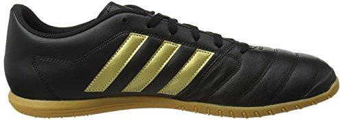 adidas Herren Gloro 16.2 in Fußballschuhe, 47.5 EU Schwarz (Core Black/Gold Metallic/Core Black)