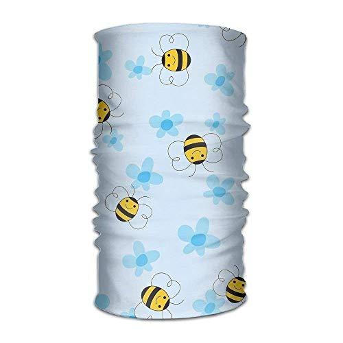 False warm warm Headwear Bumblebee Head Scarf Wrap Sweatband Sport Headscarves Men Women