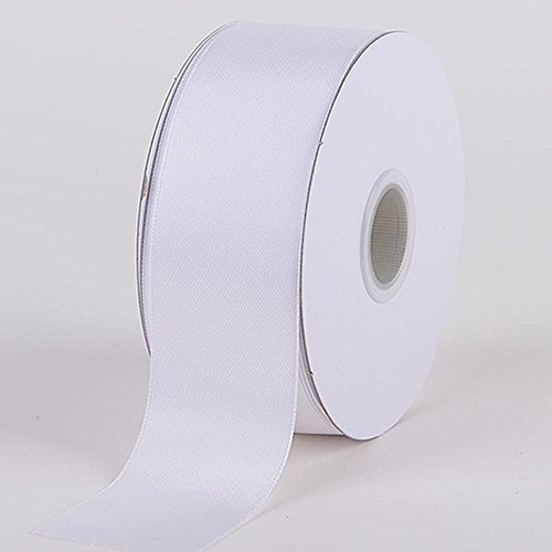 38mm Satinband Weiß in 5m Länge -