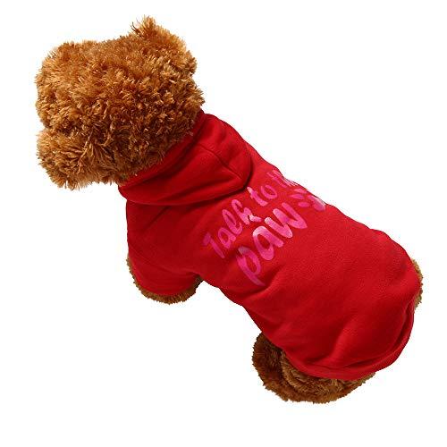 Bluelucon Haustier Kostüm Hund Kostüm Kleidung Haustier Outfit -